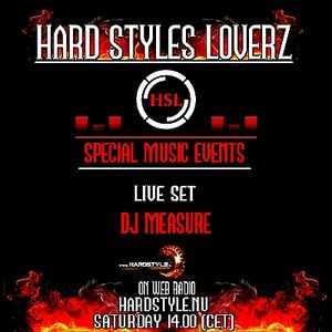 Dj Measure - Hard Styles Loverz - Hardstyle.nu - Saturday 02 June 2012