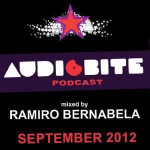 AudioBite Podcast September 2012 - mixed by Ramiro Bernabela