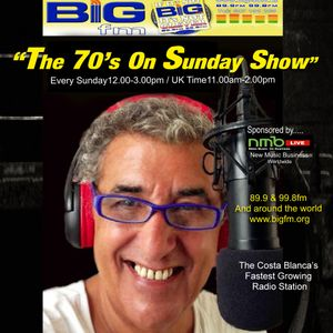 """The No1 70's Show! """"The 70's On Sunday"""" with Lee Howard Sponsored by NMB LIVE! The Full Show"""