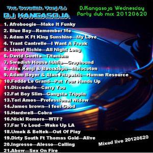 DJKangasojaWndesdayPartyClubMixLiveSession20120620