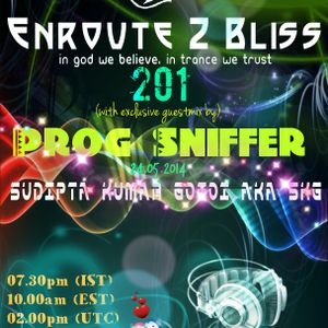 Enroute 2 Bliss 201 with exclusive guestmix by Prog Sniffer-24.05.2014
