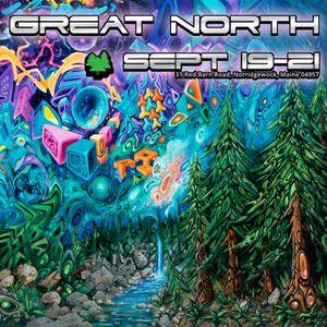 Live @ Great North Music & Arts Festival (09.19.2014) : Sunrise Silent Disco
