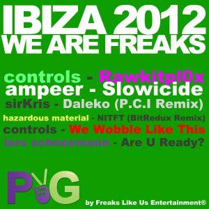 Purple & Green IBIZA 2012 We are Freaks