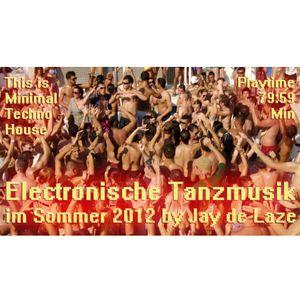 Elektronische Tanzmusik im Sommer 2012