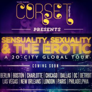 Corset Magazine presents Sensuality, Sexuality & The Erotic 2