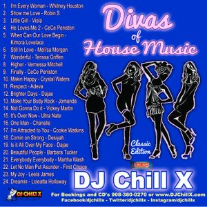 Best of classic house music divas of house music by dj for Old house music classics