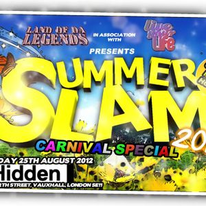 SUMMER SLAM 2012 GARAGE MEETS HOUSE MIX CD..DR G,MC PSG,RISKGO,AN DJ TEMPO