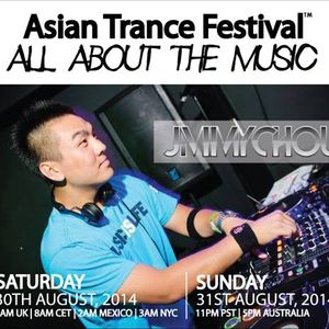 Jimmy Chou - Asian Trance Festival 2014