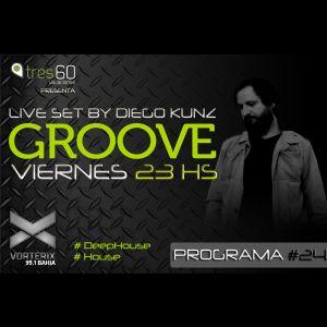 Groove #24 @ Vorterix Bahía (emitido el 23-06-17)