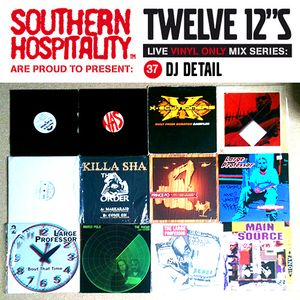 Twelve 12's Live Vinyl Mix: 37 - DJ Detail – Large Professor Special
