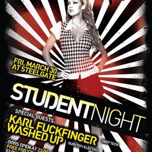Karl FuckFinger - Mixtape for Steelgate Student Night 23/03/12
