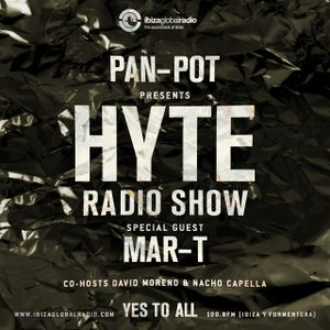 Pan-Pot - Hyte on Ibiza Global Radio Feat. Mar-T - August 31