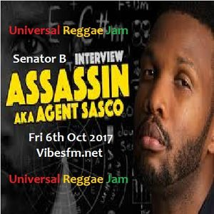 Fri 6th Oct 2017 Senator B talks to Assassin aka Agent Sasco