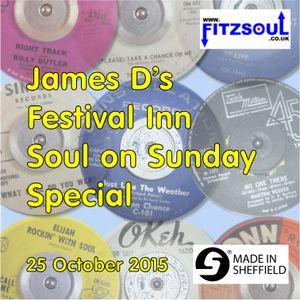 James D's Fitzsoul Festival Inn Soul on Sunday Special