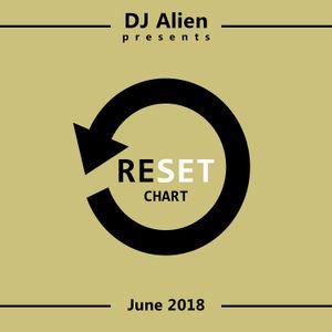 DJ Alien presents RESET CHART - June 2018