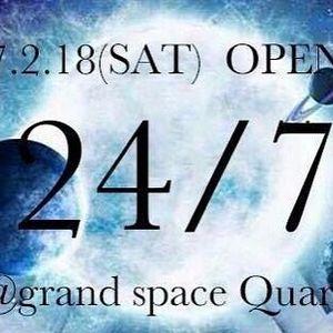 2017.2.18 24/7 @Quark psytrance mix by K-ZO