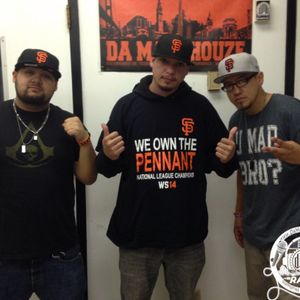 The Bay's own Insain stops by Da MaddHouze to chop it up with Da-D-E-Double