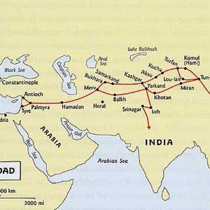 Culture: The Silk Road (6500 km)