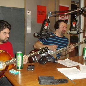 WD-40 en entrevue et prestation aux préliminettes, 89,3 FM, Montréal, février 2013