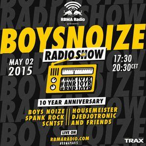 Djedjotronic - Boys Noise Radio Show @ Red Bull Studios Paris (2015.05.02)