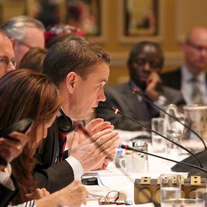 IDS' Jeremy Allouche interviews Danish Minister for Development Cooperation Christian Friis Bach