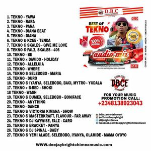 BEST OF TEKNO SONG + COLLABO LATEST 2017 MIXTAPE: download link in