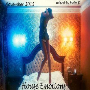 Meto-D - November House Emotions 2015