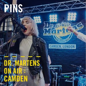 PINS (Live)   Dr. Martens On Air : Camden