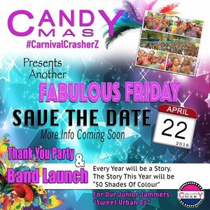 Candy Mas Thank You & Launch Party 2016 Promo Mix, Mixed By Almighty Soundz