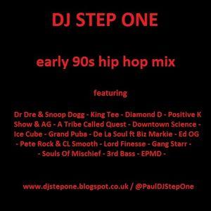 DJ Step One - early 90s Rap mix