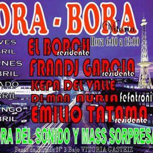 Borch@BoraBora Vitoria 5-4-2012