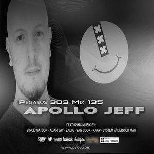 Techno Podcast: Pegasus 303 Mix 135 - Apollo Jeff