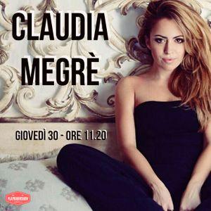 Claudia Megrè - L'Amico di PlayRadioShow - 30 Novembre 2017