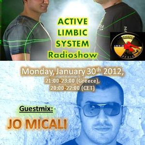 Active Limbic System show Athens trance radio 30-1-12-Guest mix by Jo Micali