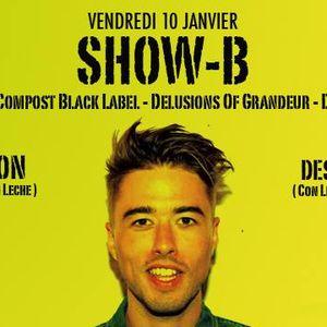 """Part 2/ Show-B, Jon&Dess @ Logo 10/01/14 """"Con Leche"""""""