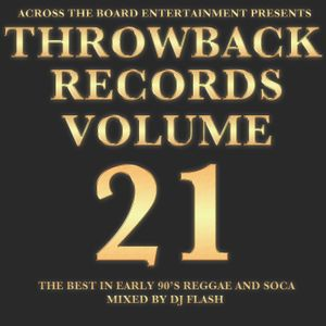 DJ Flash-Throwback Records Vol 21 Early 2000 Reggae Hip Hop & Soca