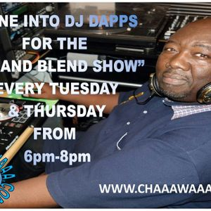 Come and join me TONIGHT!!! for my 'Mix and Blend Show Part Two From' 6pm to 8pm,