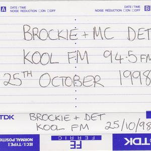 Brockie & MC Det - Kool FM - 25.10.1998