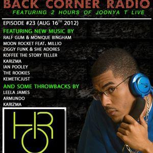 BACK CORNER RADIO: Episode #23 (Aug 16th 2012)