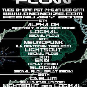 LightsOut + Sub/DNA MC @ Signal Flow Radio 2 12 13