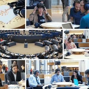It europhonica la voce delle radio universitarie dal for Streaming parlamento