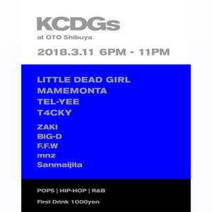 "3/11/2018 ""KCDGs"" 5th ANV @ OTO, Shibuya MIX [Updated] by TEL-YEE"