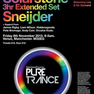 Sneijder @ Pure Trance RONG