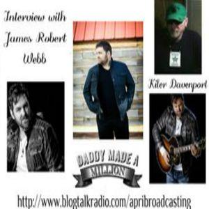 Kiler Davenport Live: Interview with James Robert Webb