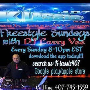 DJLarry Vee & Dj Flash on Freestyle Sunday EP 12