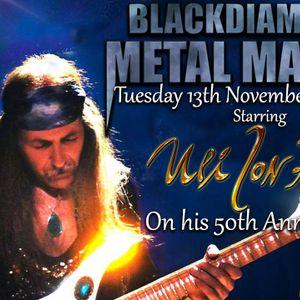 Blackdiamond's Metal Mayhem 13/11/18 Part 1: Starring ULI JON ROTH