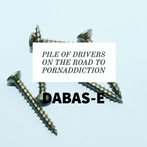 Pile of drivers on the road to pornaddiction