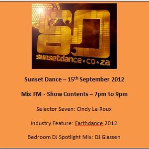 Sunset Dance 2012 09 15 - MixFM - Podcast 2 Hours