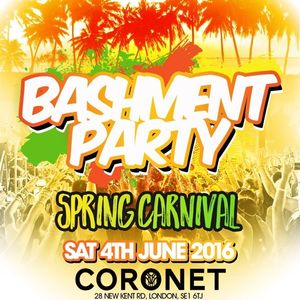 BASHMENT PARTY - Spring Carnival: Sat 4th June - OFFICIAL MIX (Mixed by DJ Nate)