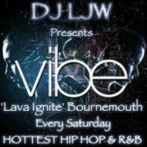 DJ LJW Vibe Saturday Lava Ignite Bournemouth July 2012 Promo CD